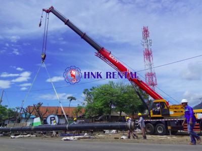 TELESCOPIC TRUCK CRANE